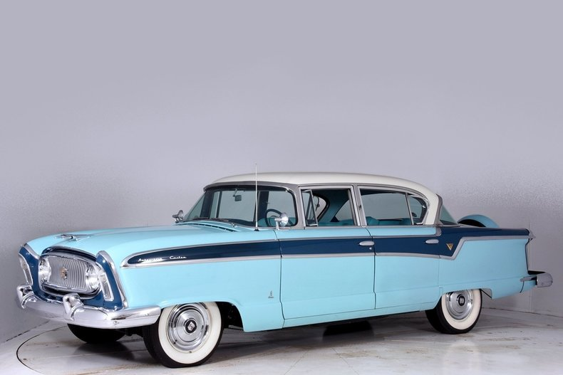 1956 nash ambassador volo auto museum. Black Bedroom Furniture Sets. Home Design Ideas