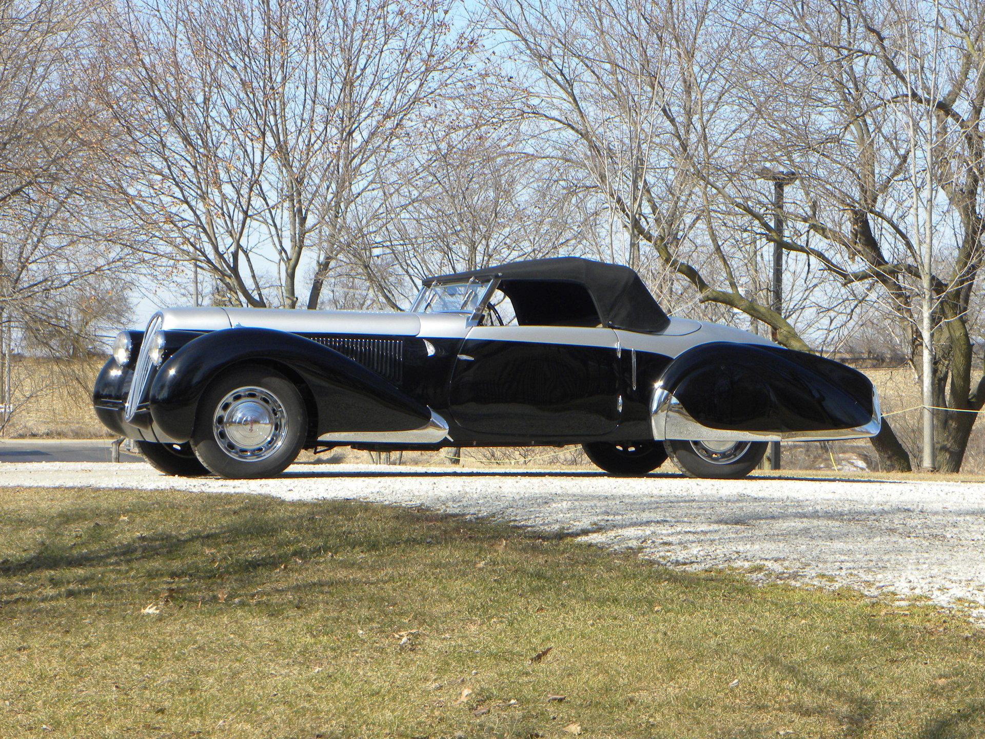 355569da32c7f9 hd 1937 peugeot model 402 pourtout cabriolet