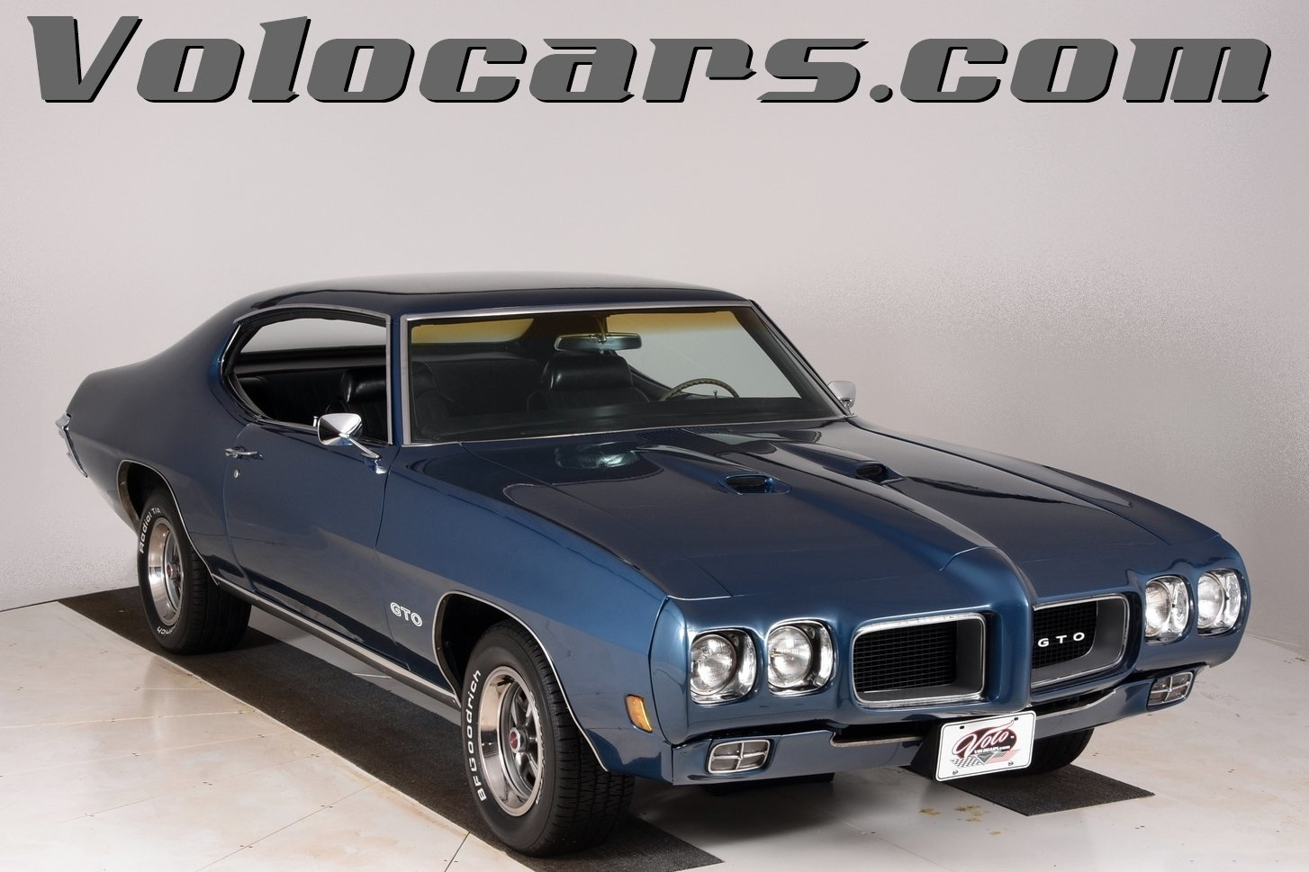 1970 pontiac gto volo auto museum. Black Bedroom Furniture Sets. Home Design Ideas