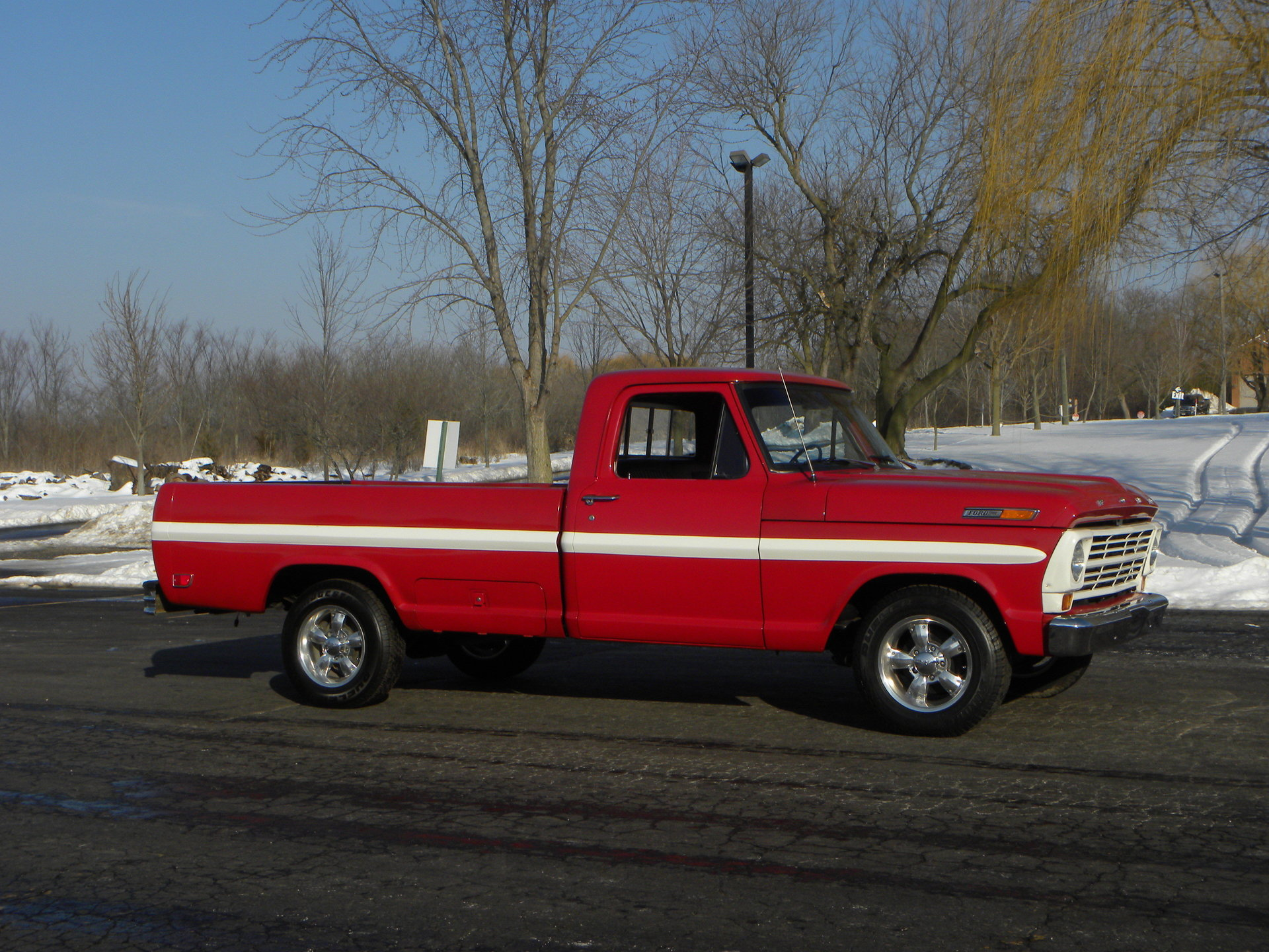 1969 Ford F100 Deluxe Styleside Pickup For Sale  81788