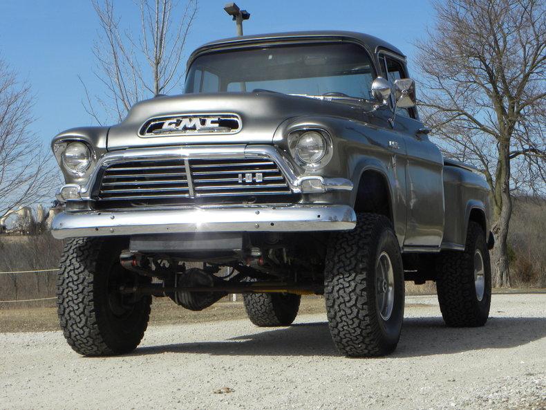 35958257f2729f low res 1957 gmc 4x4 truck