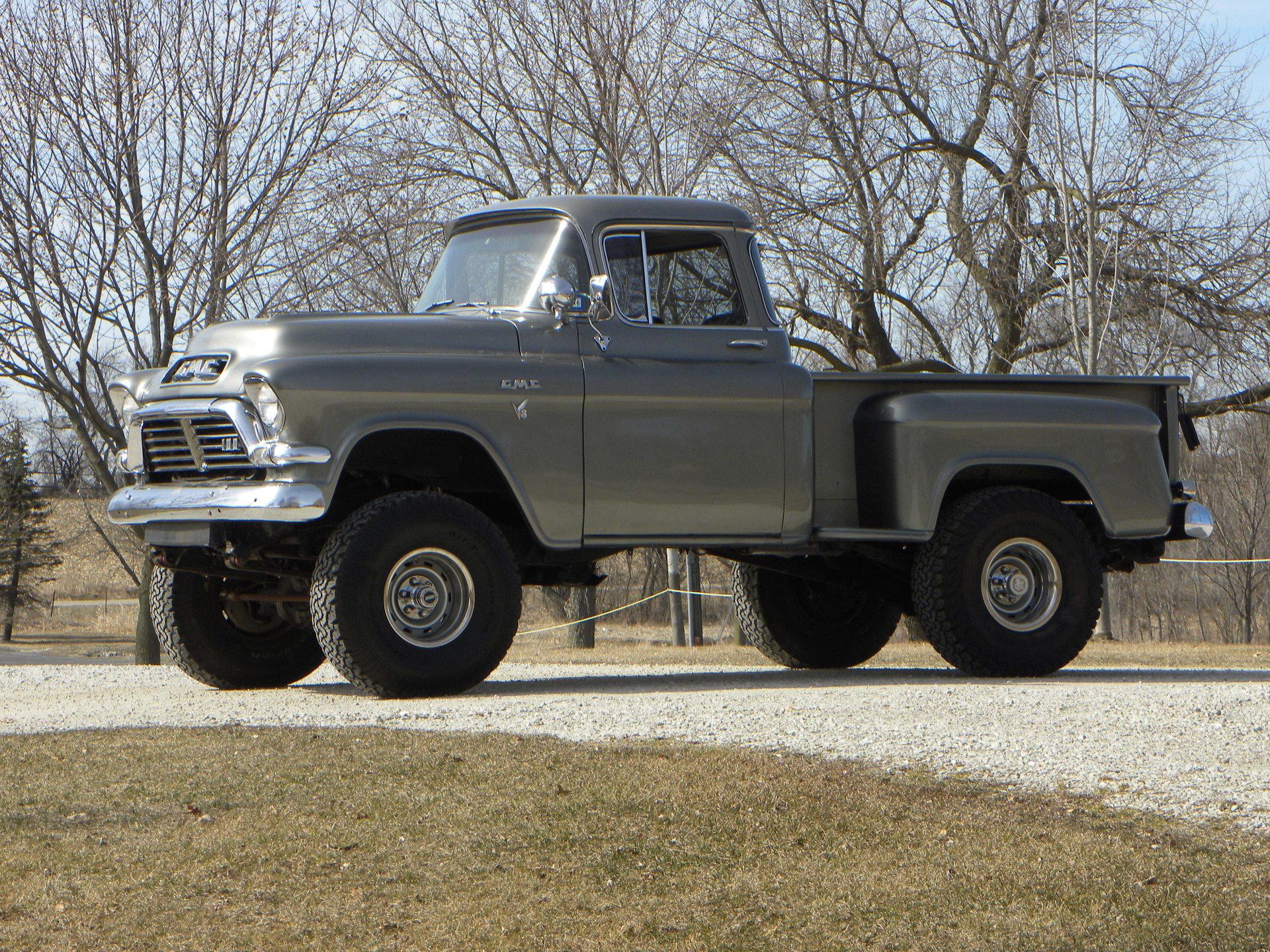 35958515a3e71a hd 1957 gmc 4x4 truck