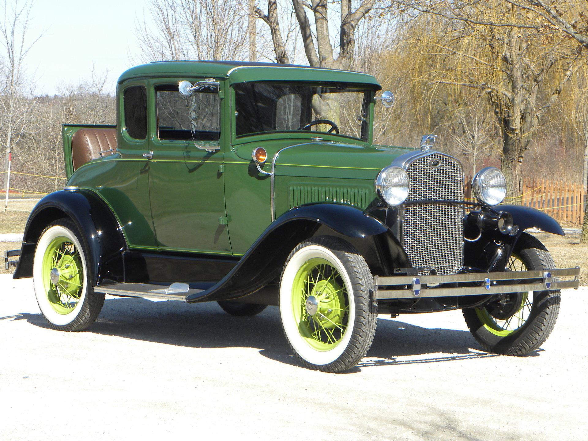 1931 ford model a coupe for sale 83545 mcg. Black Bedroom Furniture Sets. Home Design Ideas