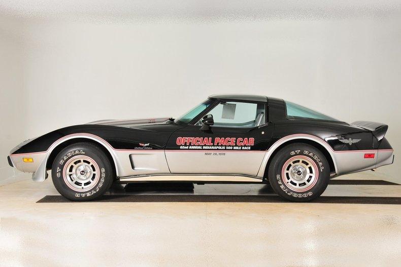 3683559d8ebbf4 low res 1978 chevrolet corvette pace car