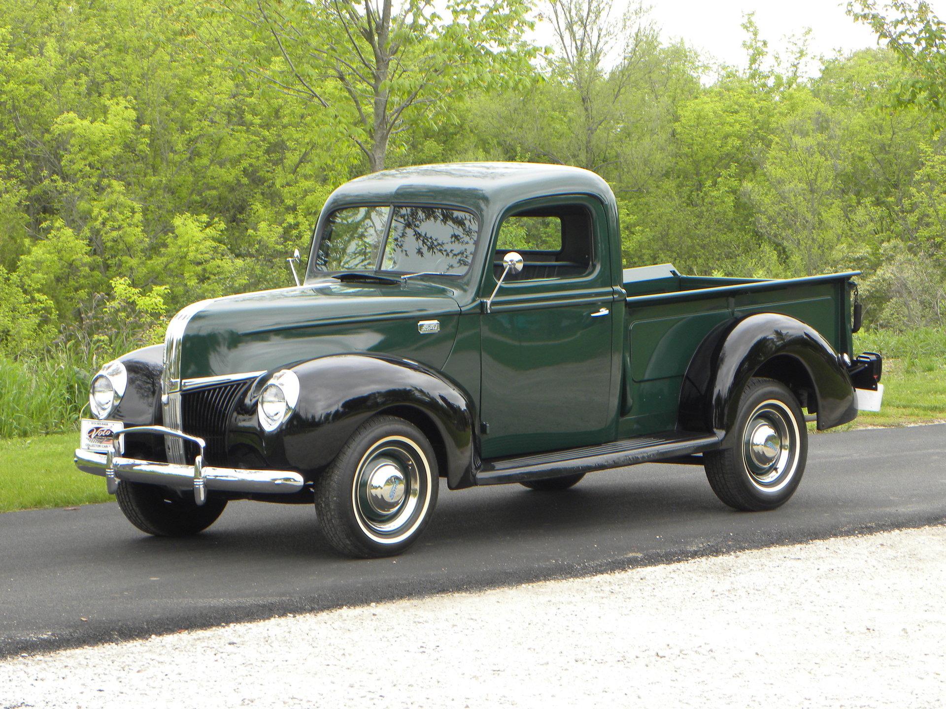 1941 Ford Models 11c Pickup Agcrewall 1 2 Ton Pick Up Model
