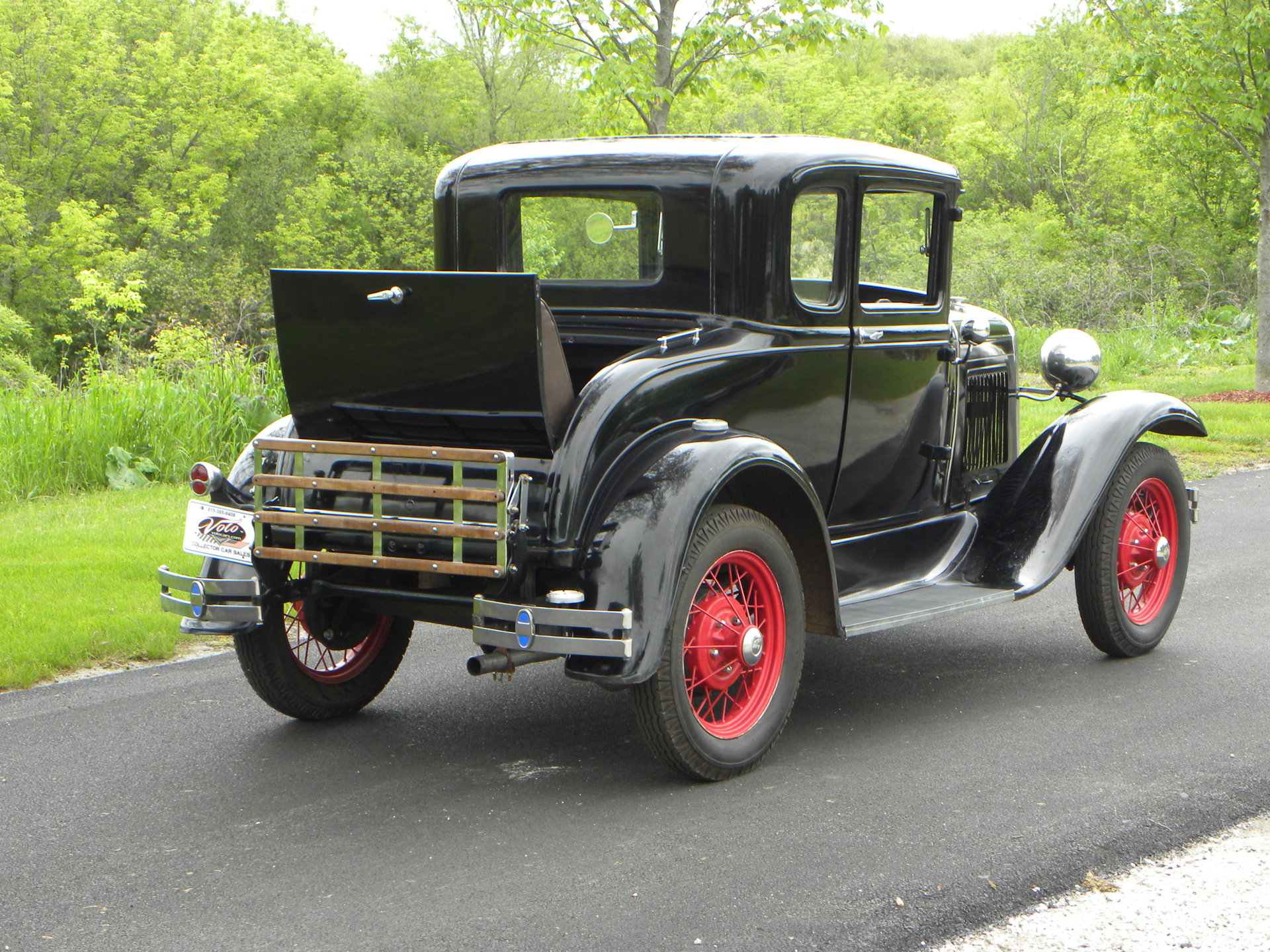 1931 ford model a deluxe coupe for sale 89724 mcg. Black Bedroom Furniture Sets. Home Design Ideas