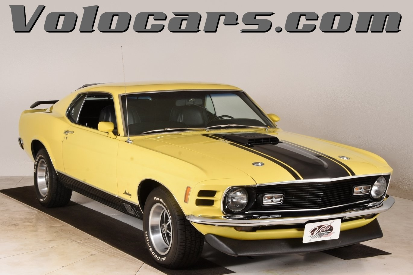 1970 Ford Mustang Volo Auto Museum Mach 1