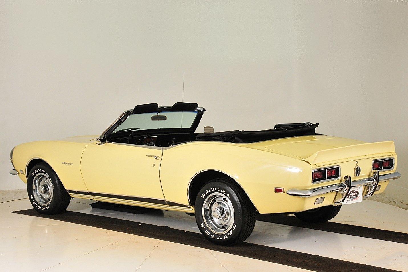 1968 Chevrolet Camaro Volo Auto Museum Rs 327 2