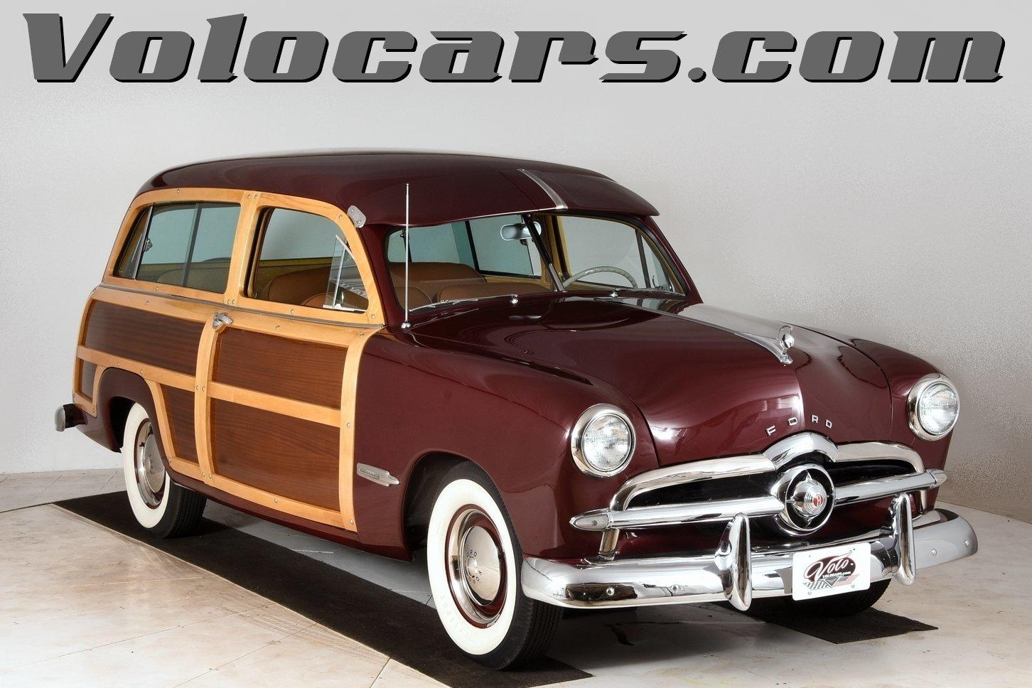 1949 Ford Woody Volo Auto Museum 2 Door Hardtop