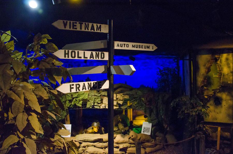 volo military museum combast zone