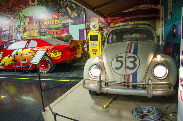 Herbie lightning mcqueen and Mater cars volo
