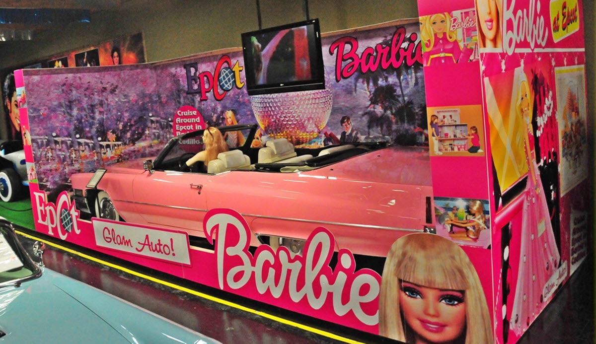 Barbie Epcot volo