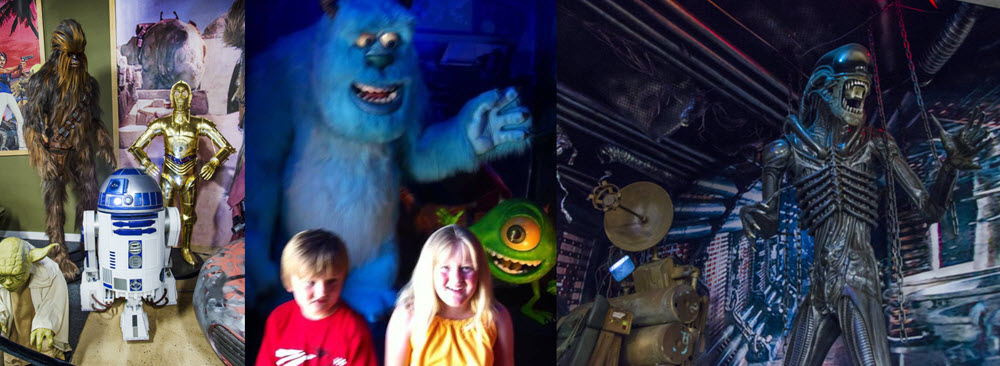 Star Wars Alien Monsters Inc volo Disney