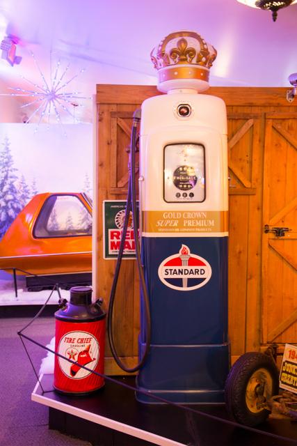 vintage gas pump standard