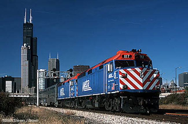 metra from chicago