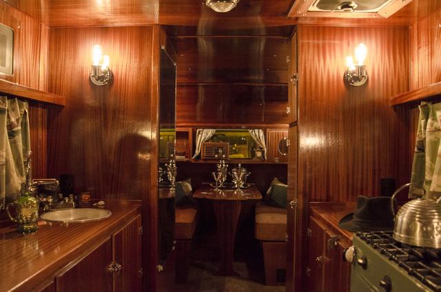 1936 Masterbilt interior