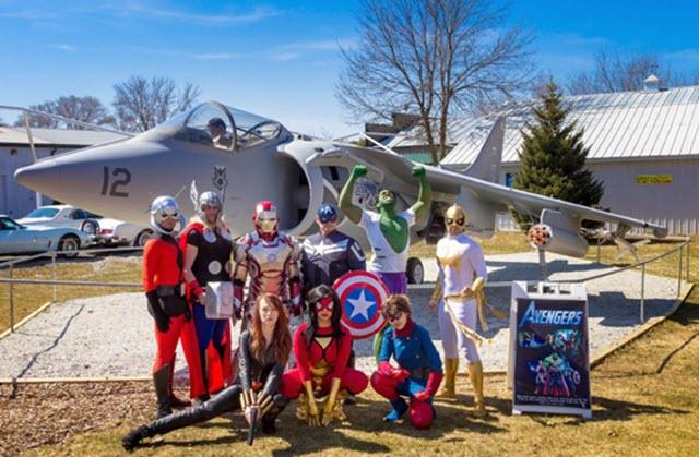 avengers jet