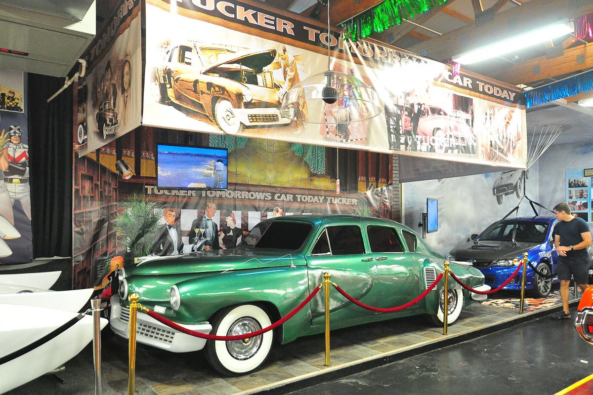 Tucker Man and His Dream Movie Car