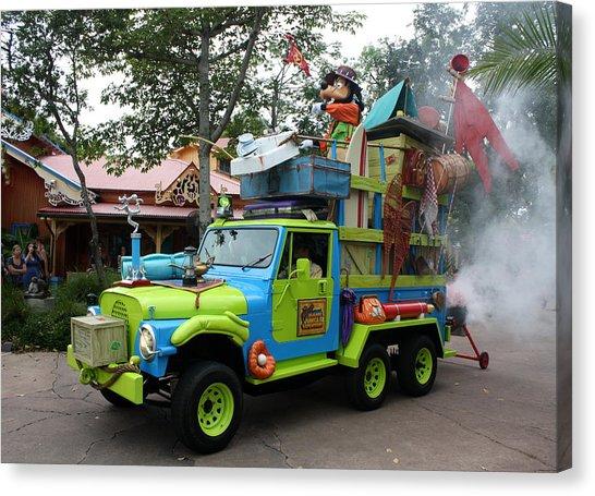 Goofy Jammin Parade Disney