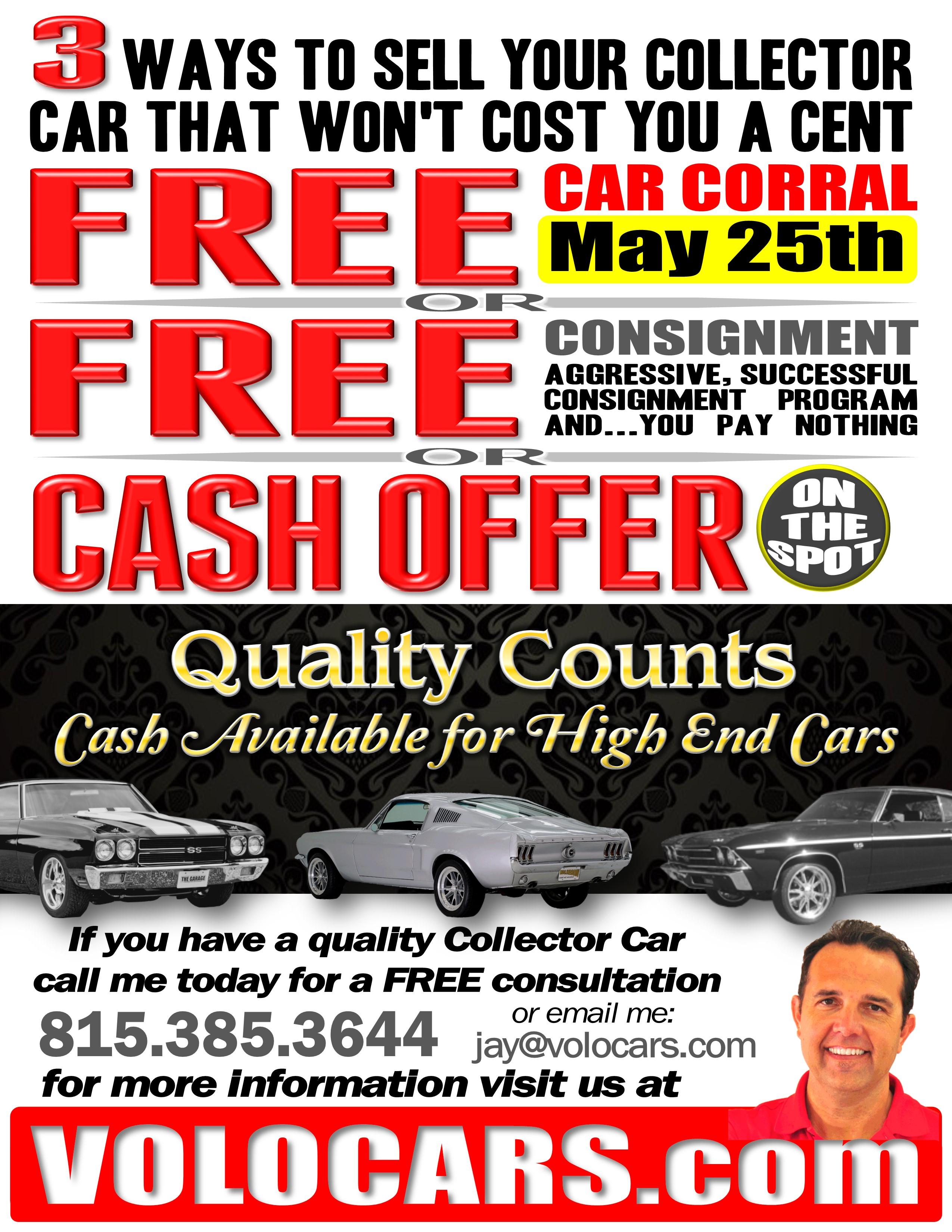 Car Corral Cancelled