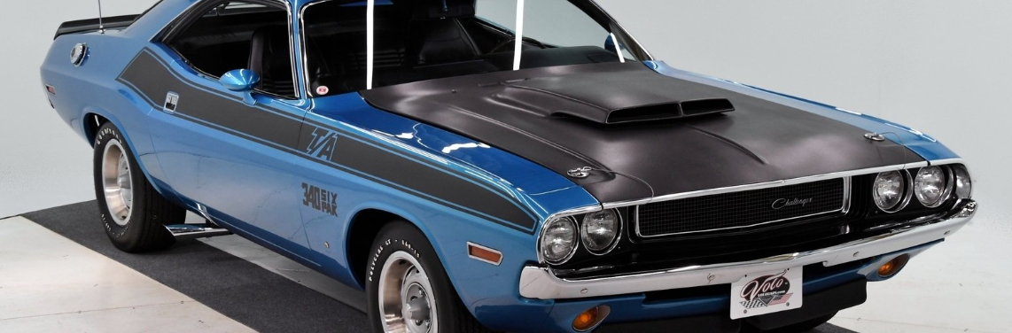 Classic Dodge Challengers for sale