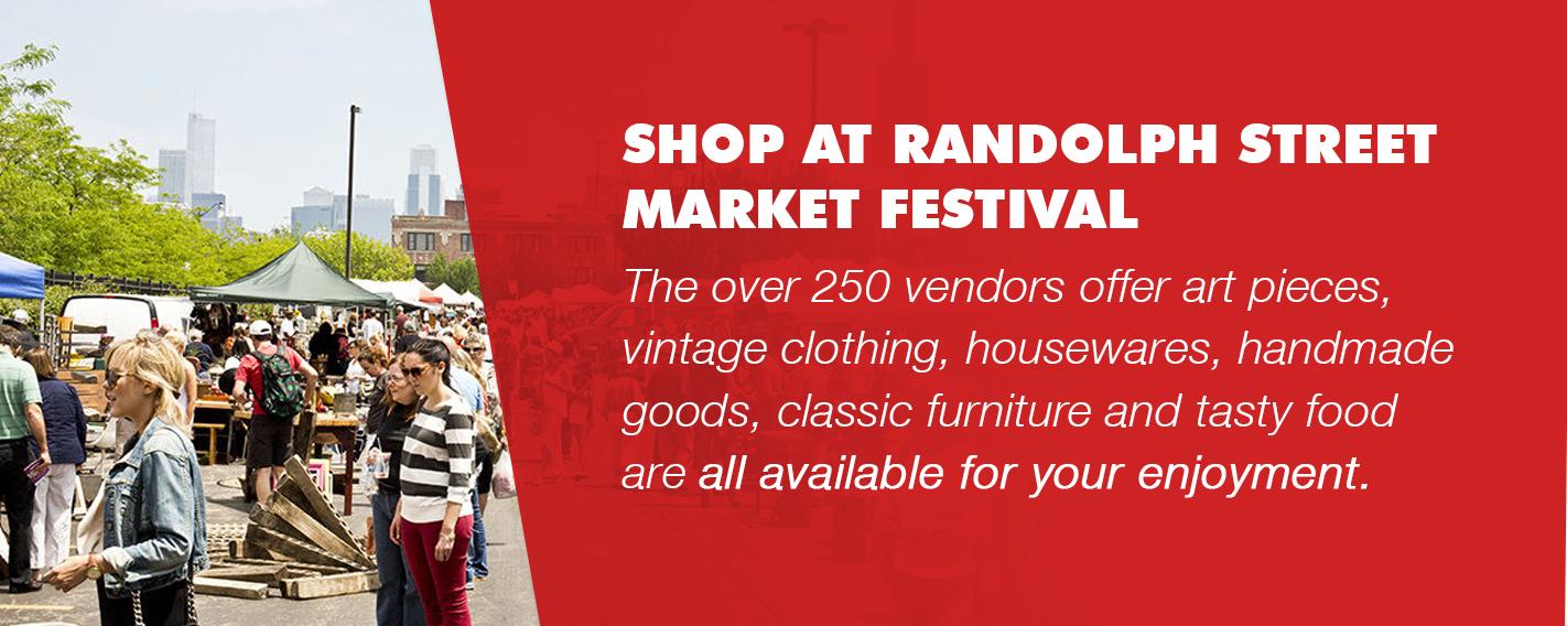 shop at the randolph street market festival
