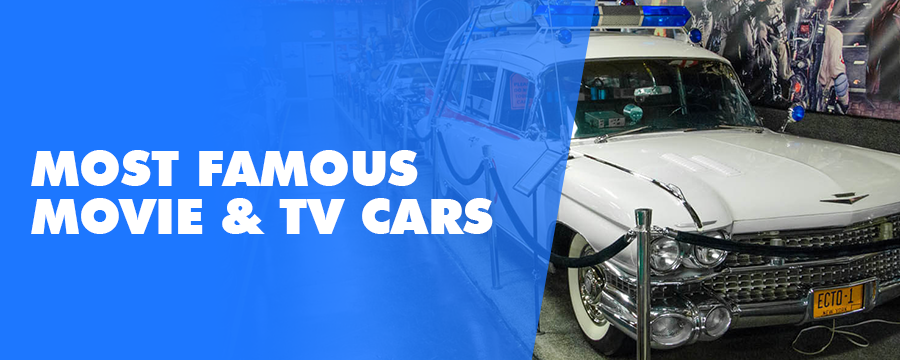 The most famous movies and tv cars