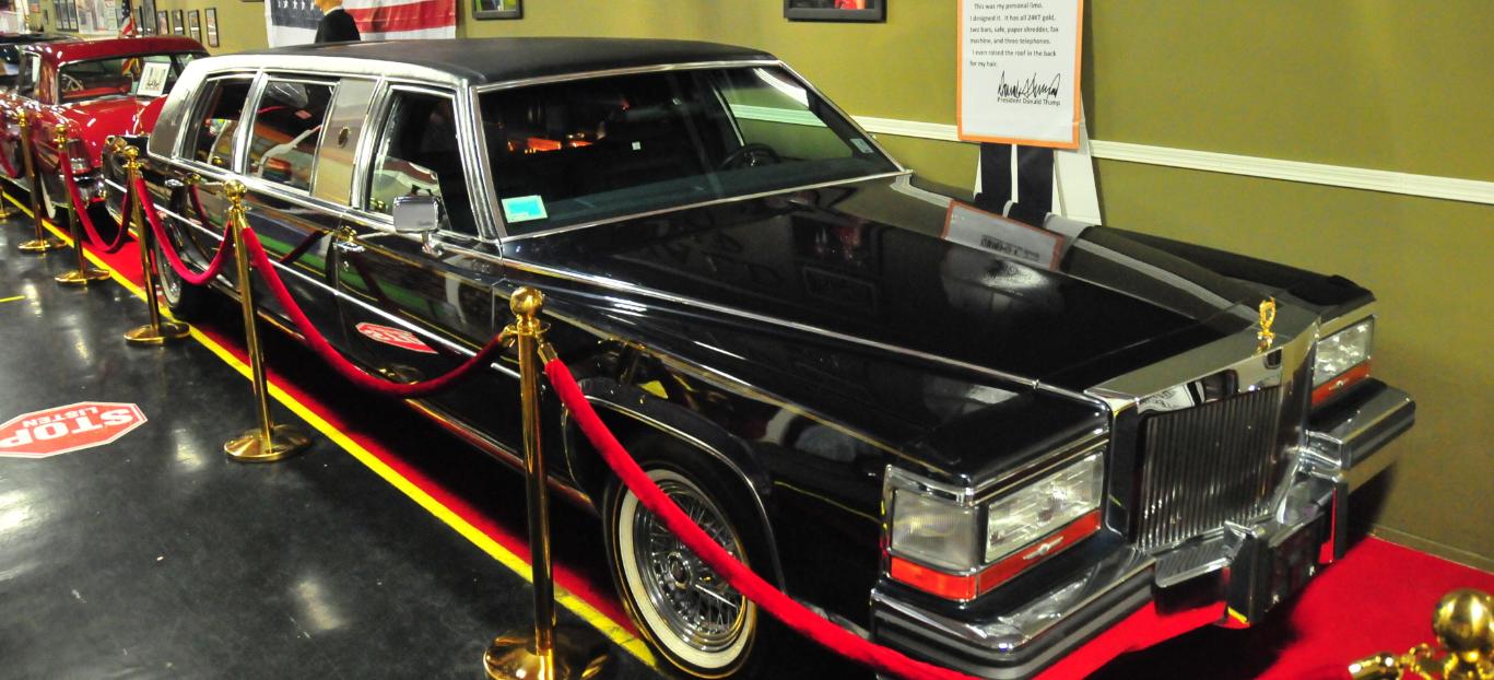 famous Trump Cadillac Limo