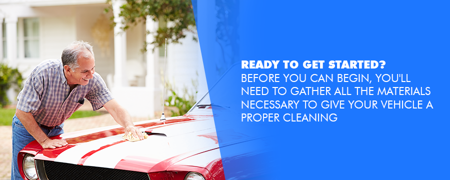 Getting started in cleaning a classic car