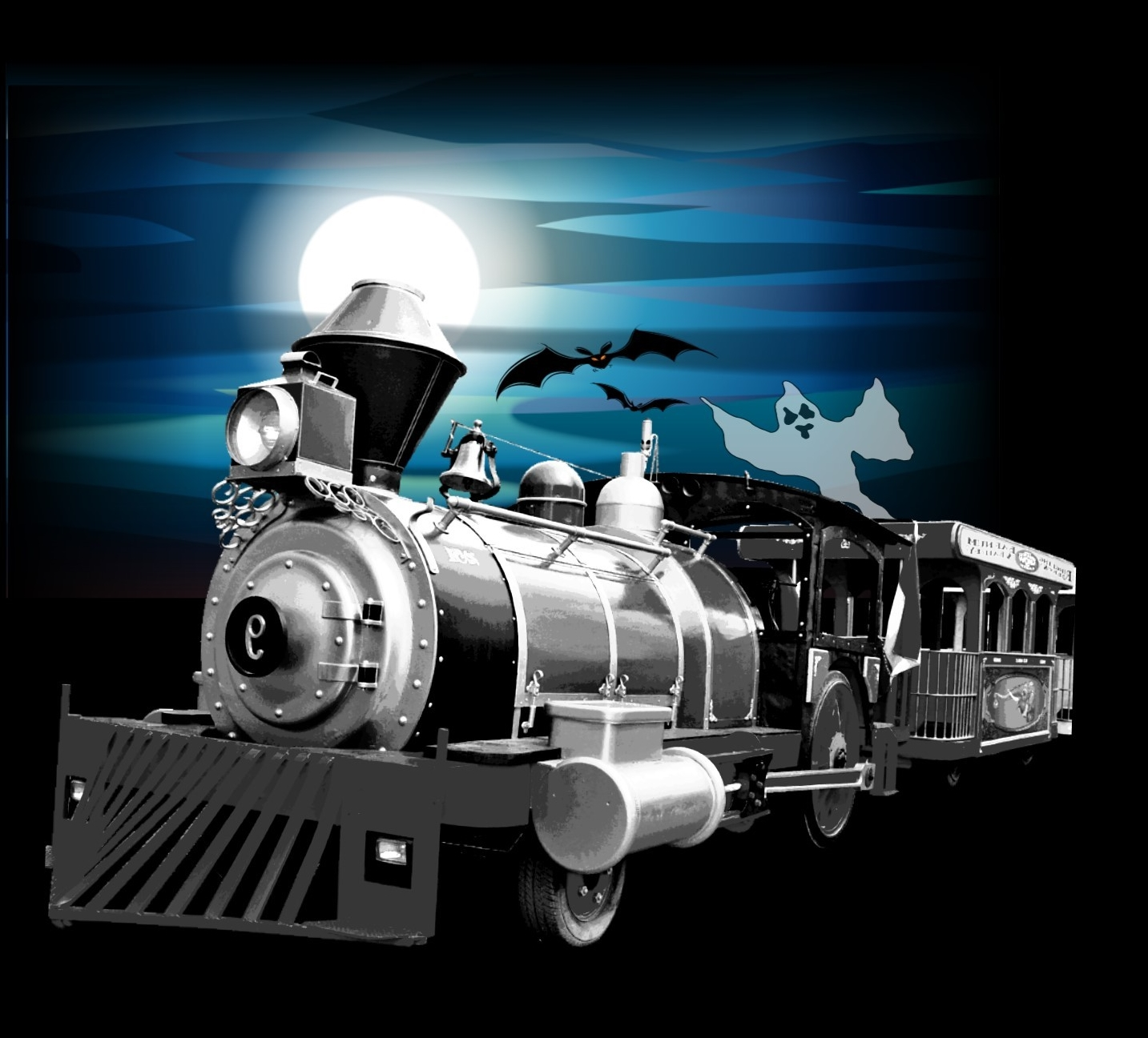 Haunted train tour