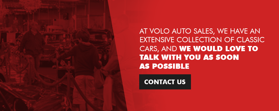 Buy your classic car from Volo Auto Museum
