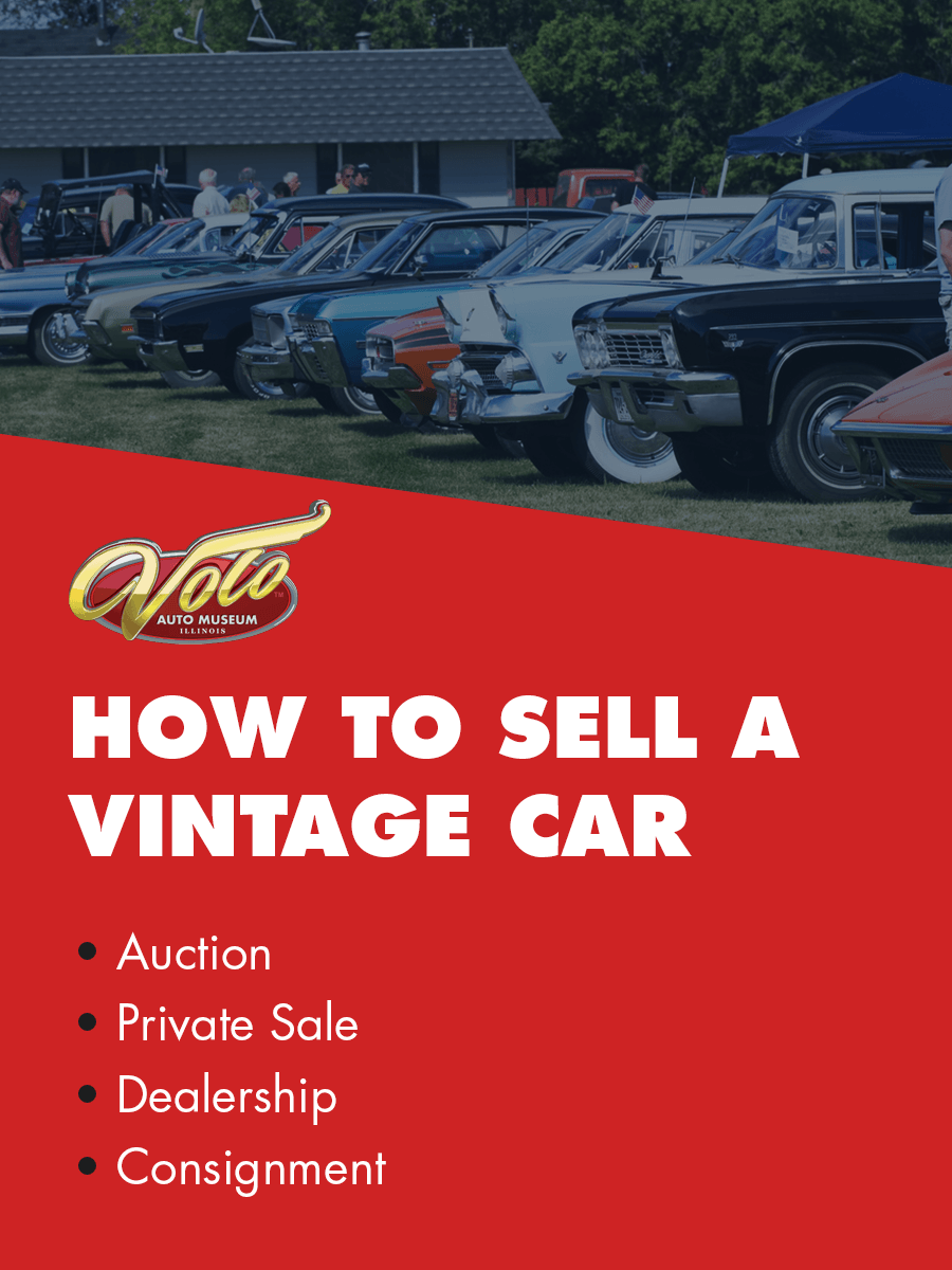 options to sell a collector car