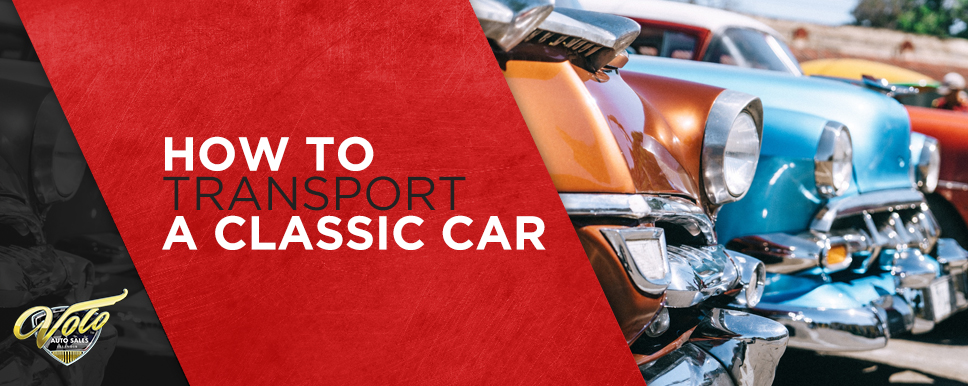 how to transport a classic car