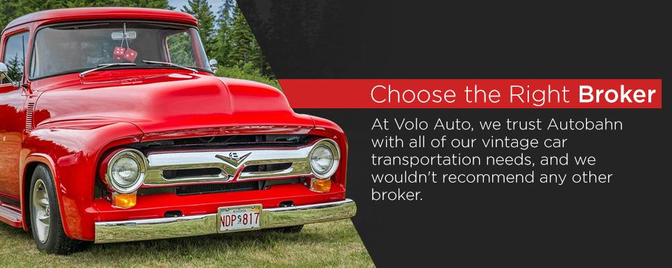 choosing the right auto transport broker