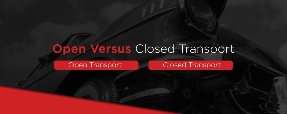 open vs closed car transport