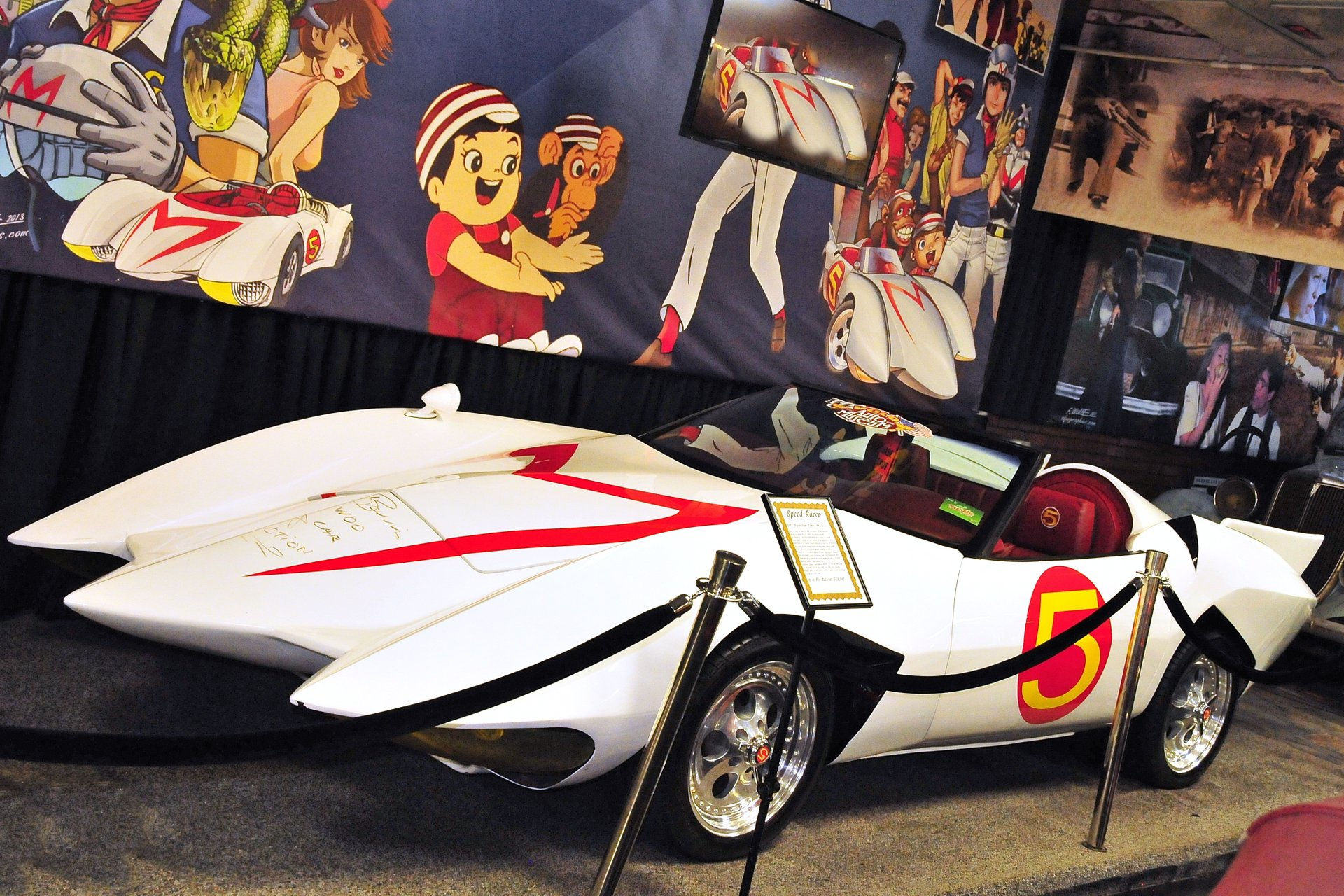 rent the Chevy mach 5