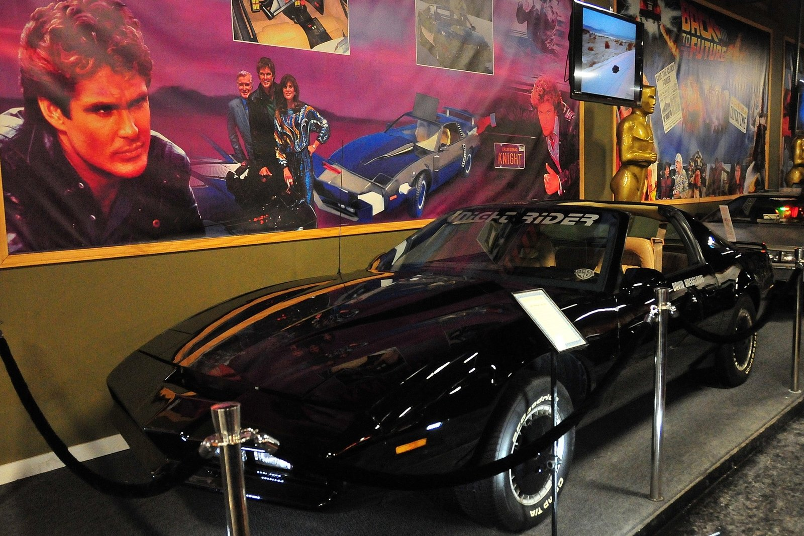 rent the Knight Rider car
