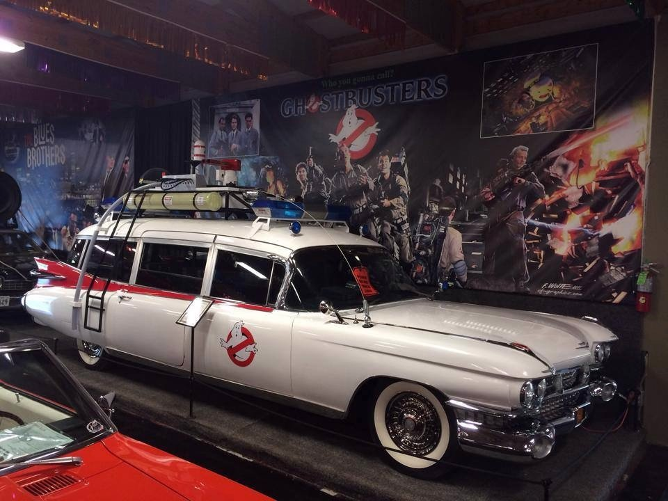 rent the car from Ghostbusters