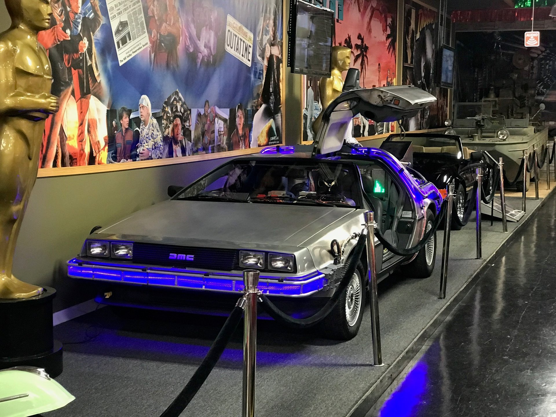 back to the future delorean rental
