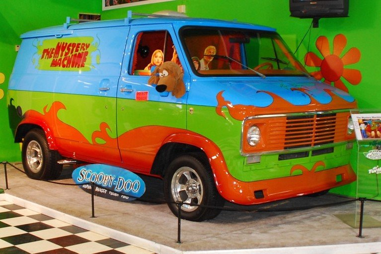 rent the Mystery Machine