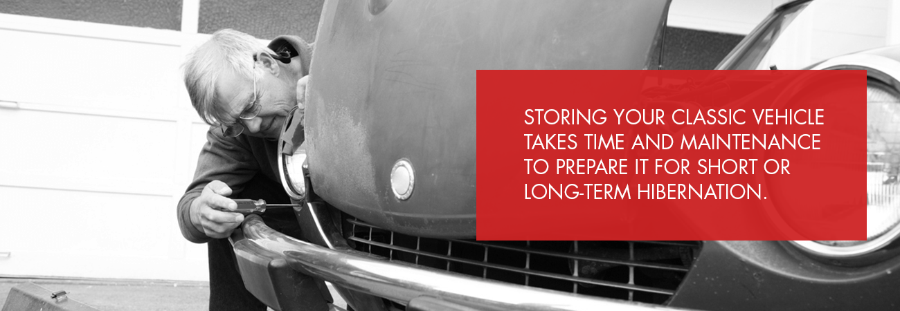 storing a car takes maintenance