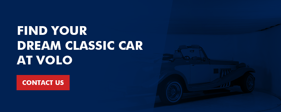 find your dream classic car at Volo