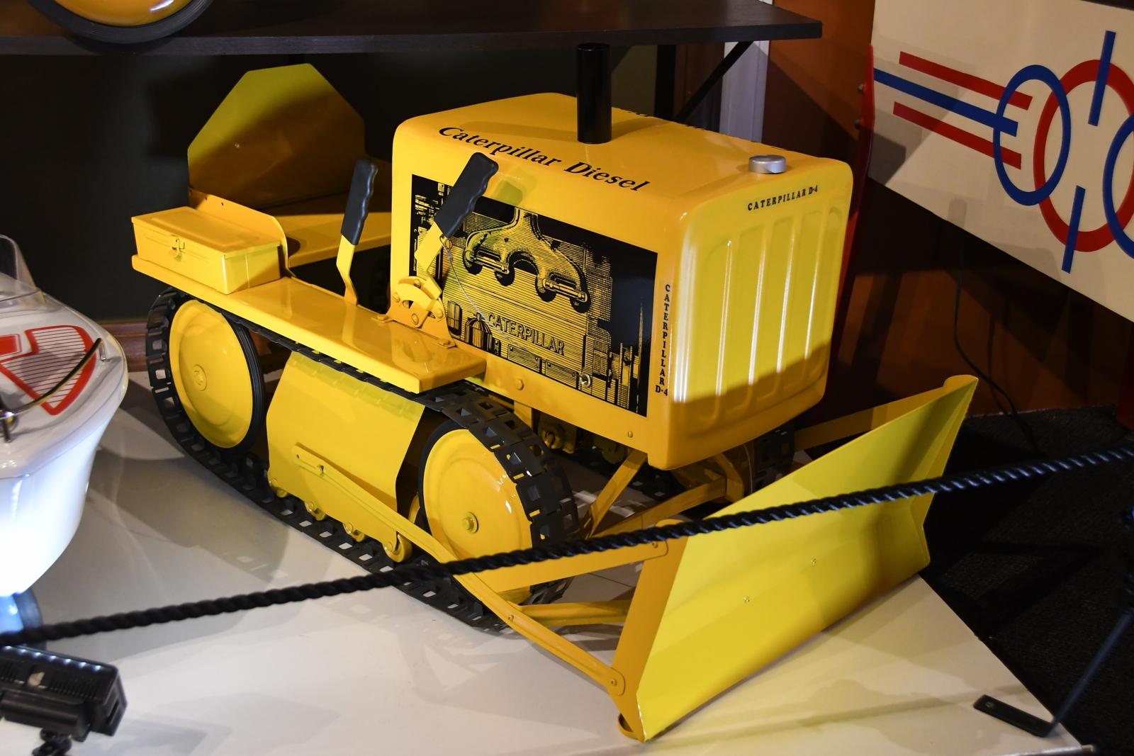 pedal cars caterpillar