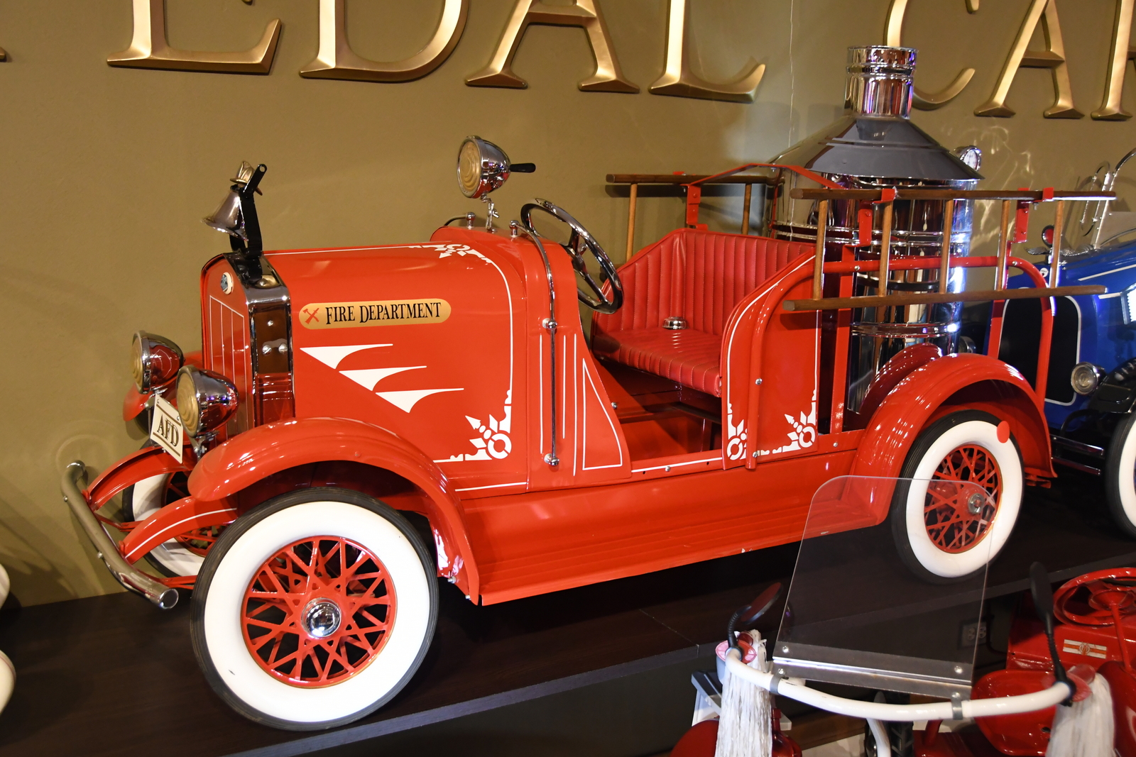 pedal cars fire truck