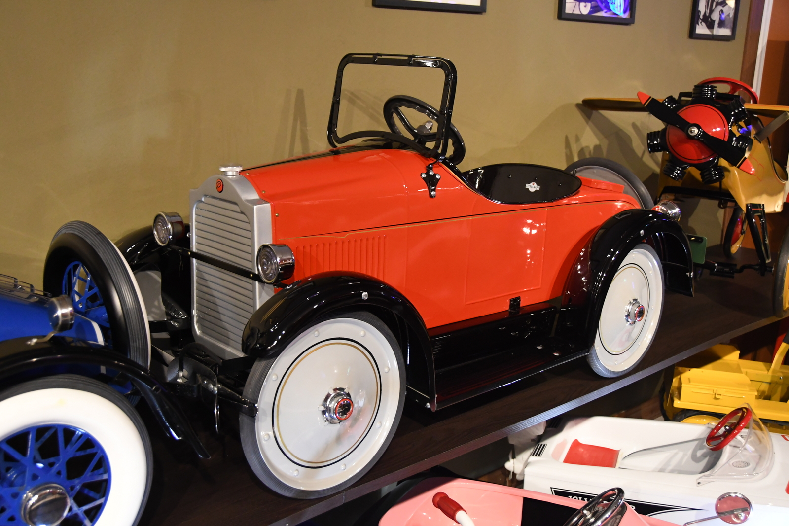 pedal cars steel