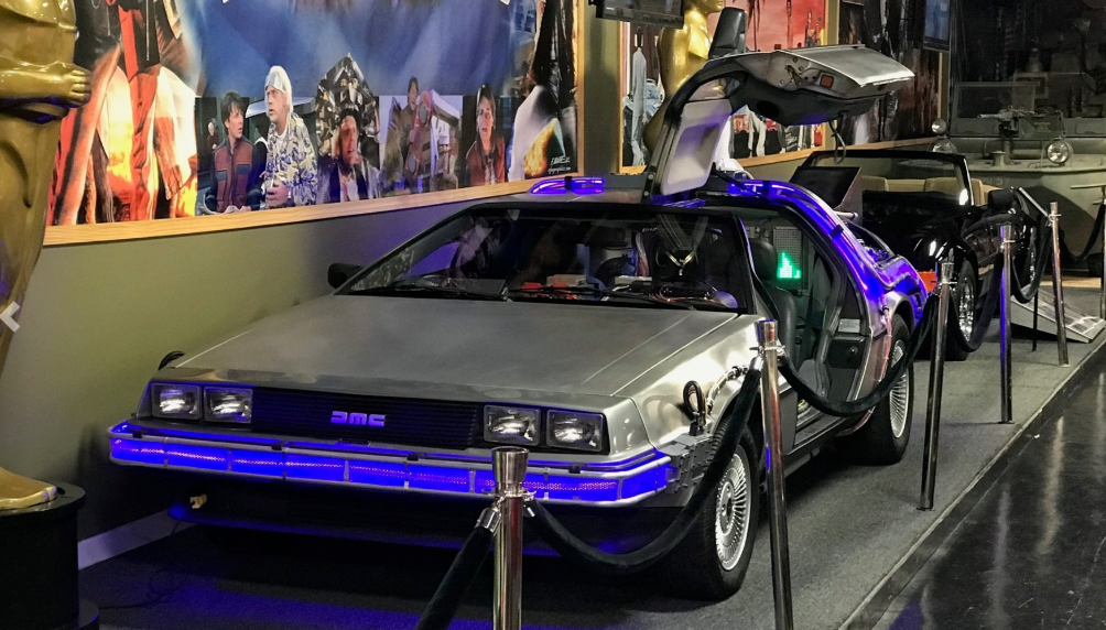 See the Back to the Future DeLorean at Volo Museum