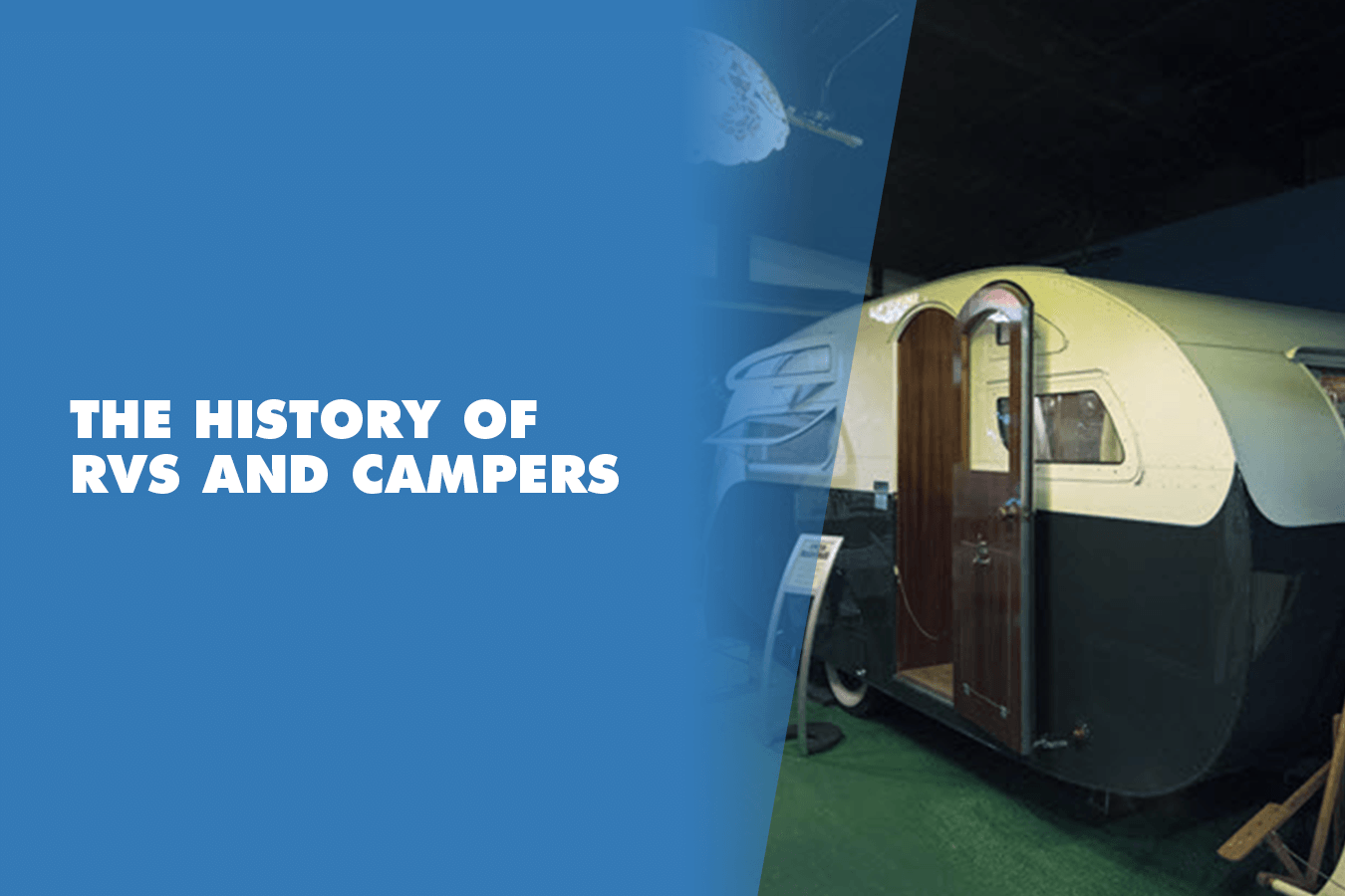 the history of campers and rvs