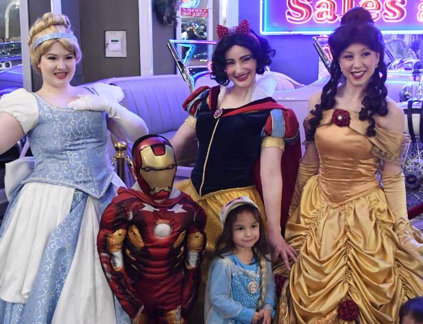 Princesses and Superheros