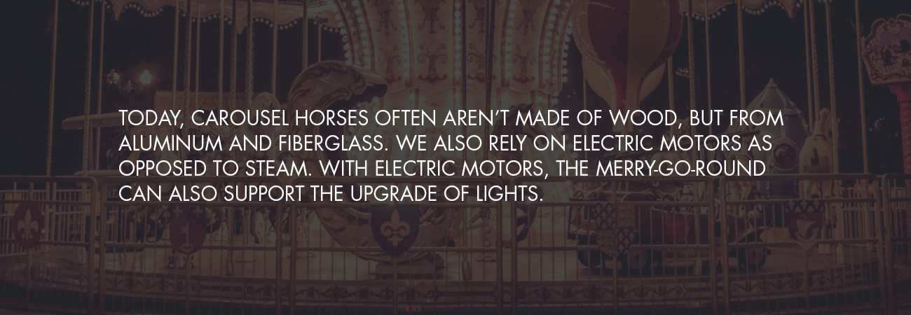 modern day carousel