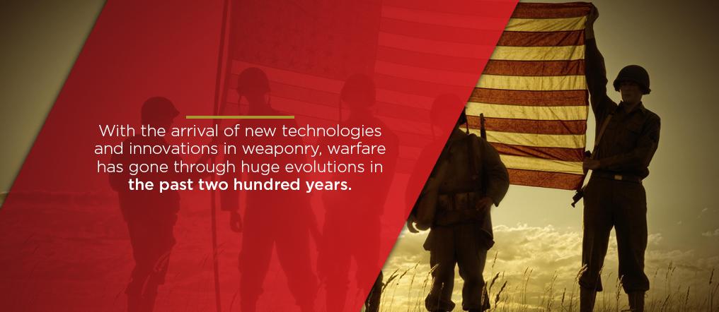 new technologies in war